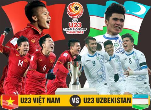 TRUC TIEP U23 Viet Nam vs U23 Uzbekistan chung ket U23 chau A 2018 hinh anh
