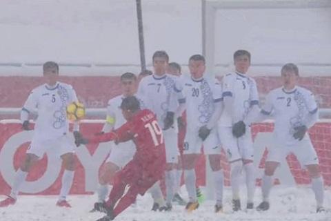 Quang Hai doat giai ban thang dep nhat VCK U23 chau A 2018 hinh anh