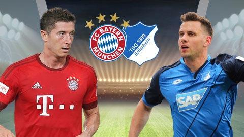 Bayern Munich vs Hoffenheim 20h30 ngày 510 Bundesliga 201920 hình ảnh