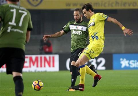 Tong hop Chievo 0-2 Juventus (Vong 22 Serie A 201718) hinh anh