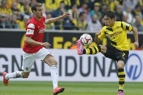 Tong hop Dortmund 2-2 Freiburg (Vong 20 Bundesliga 201718) hinh anh