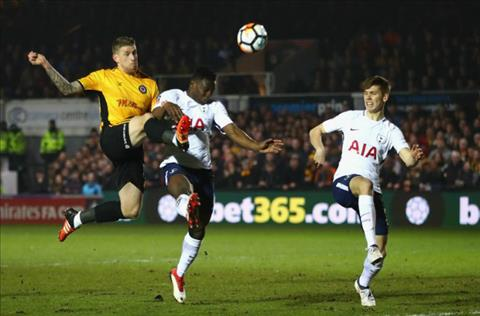 Tong hop Newport 1-1 Tottenham (Vong 4 FA Cup 201718) hinh anh