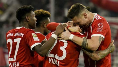 Bayern Munich 5-2 Hoffenheim Dang cap qua vuot troi hinh anh