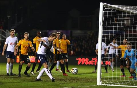 Newport 1-1 Tottenham