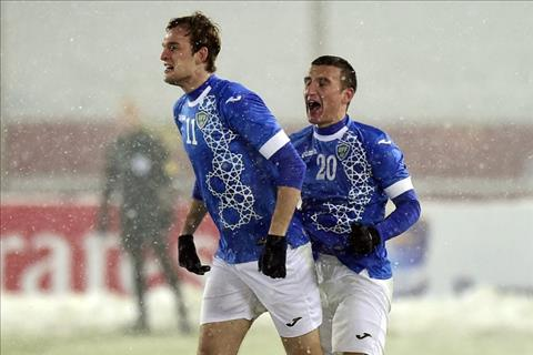Nguoi hung Uzbekistan noi gi ve ban thang da ha guc U23 Viet Nam hinh anh