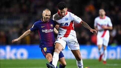 HLV Valverde khen ngoi Iniesta sau tran thang thot tim Alaves hinh anh
