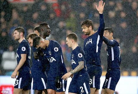 Tong hop Swansea 0-2 Tottenham (Vong 22 Premier League 201718) hinh anh