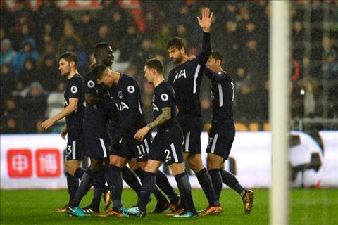 Nhung thong ke an tuong sau tran Swansea 0-2 Tottenham hinh anh