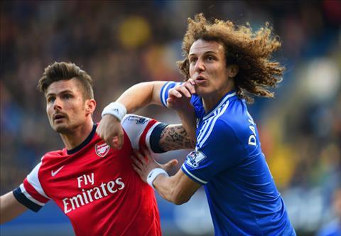 Arsenal mua David Luiz với giá 17 triệu bảng nhưng bị từ chối hình ảnh