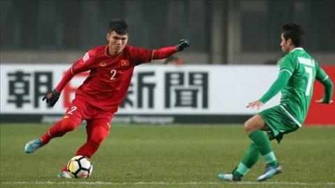 Xuan Manh choi cuc hay trong tran tu ket voi U23 Iraq