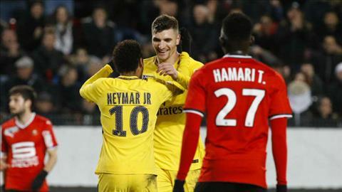 Tong hop Rennes 2-3 PSG (Ban ket cup Lien doan Phap) hinh anh