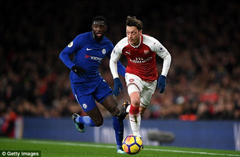 Tong hop Arsenal 2-2 Chelsea (Vong 22 Premier League 201718) hinh anh