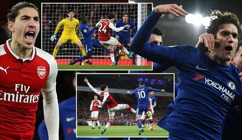 Du am Arsenal 2-2 Chelsea Thanh bai tai cac hau ve hinh anh