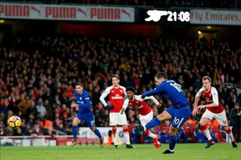 Nhung thong ke an tuong sau tran Arsenal 2-2 Chelsea hinh anh