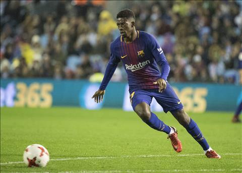 Ousmane Dembele cua Barca sap cap ben Chelsea hinh anh 2