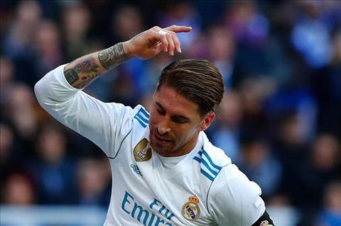 Real Madrid nhan tin du tu Sergio Ramos hinh anh