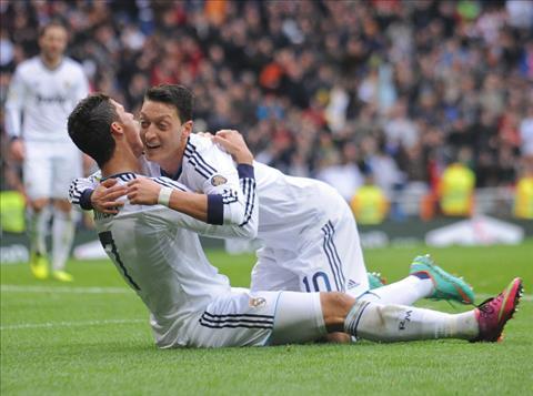 Tien ve Mesut Ozil Ronaldo tot hon Messi hinh anh 2