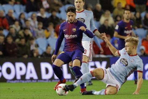 Tong hop Celta Vigo 1-1 Barca (Cup Nha vua TBN 201718) hinh anh