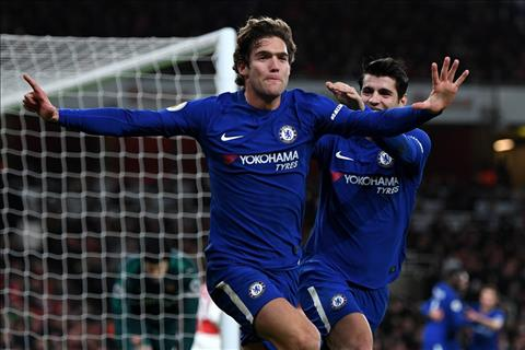 Chelsea don tin mung tu Marcos Alonso truoc tran gap Barca hinh anh