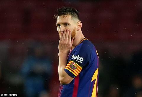 Messi bo lo tran dau dem nay cua Barca vi van de ca nhan hinh anh