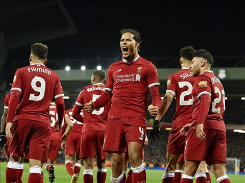 Tan binh Virgil Van Dijk toa sang ngay tran ra mat Liverpool