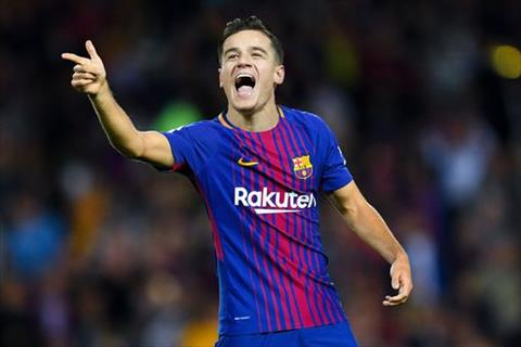 Tien ve Philippe Coutinho mac ao so 7 o Barca hinh anh