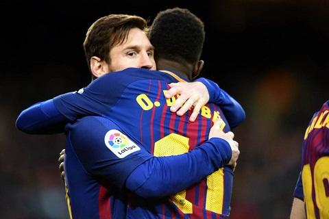 Barca 3-0 Levante Niem hy vong mang ten Ousmane Dembele hinh anh 2