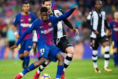 Barca 3-0 Levante Niem hy vong mang ten Ousmane Dembele hinh anh
