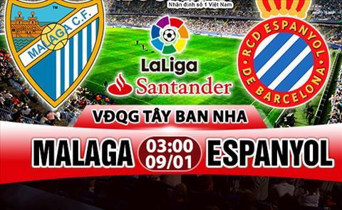 Nhan dinh Malaga vs Espanyol 03h00 ngày 91 (La Liga 201718) hinh anh
