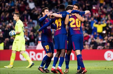 Nhung thong ke an tuong sau tran Barca 3-0 Levante hinh anh