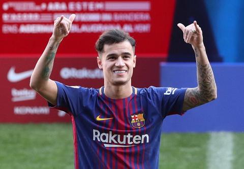Nguoi Madrid tuyet vong Barca coi nhu da vo dich voi Coutinho hinh anh