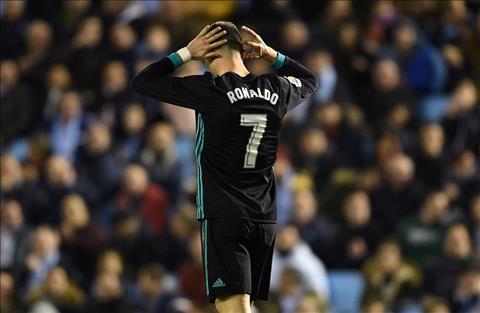 Ronaldo trong tran hoa Celta 2-2