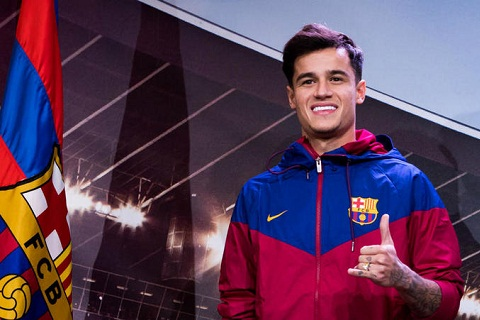 Tien ve Philippe Coutinho roi Liverpool toi Barca hinh anh