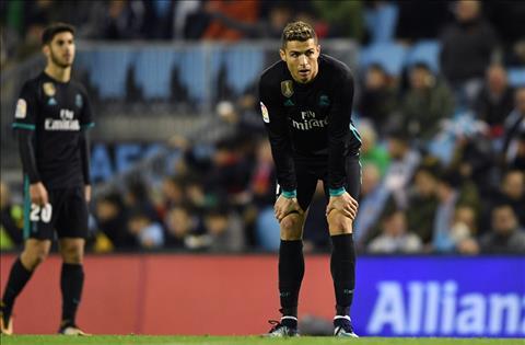 Nhung thong ke dang nho sau tran Celta Vigo 2-2 Real Madrid hinh anh