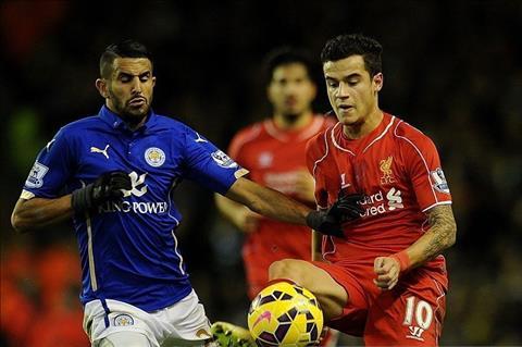 Liverpool mua tien ve Riyad Mahrez thay Coutinho hinh anh 2