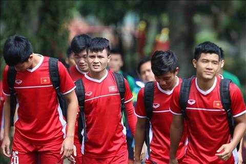 DT Viet Nam huy da giao huu truoc them AFF Cup 2018.