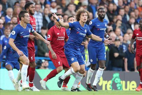 David Luiz thách thức đồng đội sau trận hòa Liverpool hình ảnh