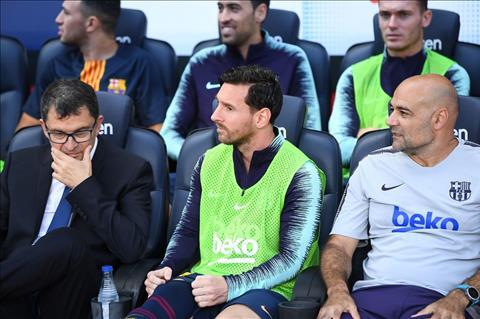Messi ngoi du bi truoc Bilbao