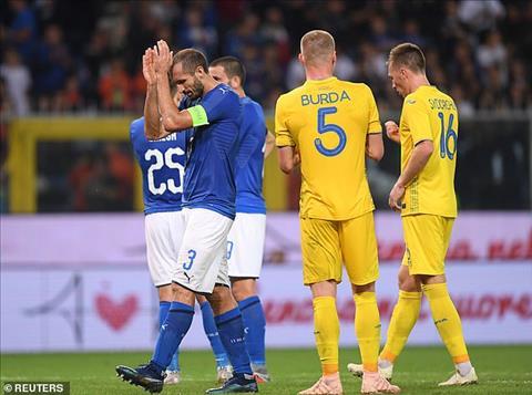 Italia 1-1 Ukraine Hòa  như dự kiến hình ảnh 2