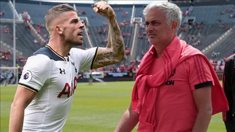 Mourinho muon dung Bailly cau Toby Alderweireld
