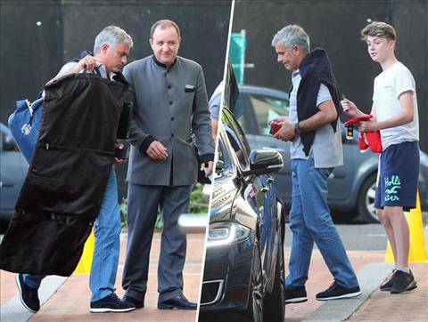 Vì sao HLV Mourinho chỉ ở khách sạn khi dẫn dắt MU hình ảnh