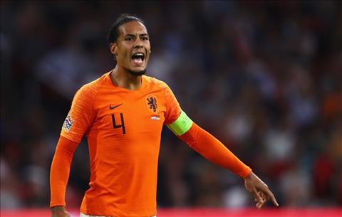 Chấn thương của Van Dijk khiến anh phải rút khỏi ĐT Hà Lan hình ảnh