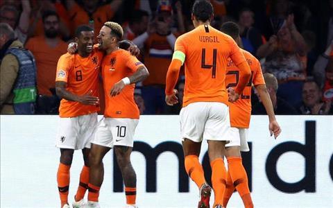 Georginio Wijnaldum phát biểu sau trận Hà Lan 3-0 Đức hình ảnh