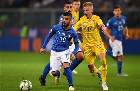 Insigne Italia vs Ukraine