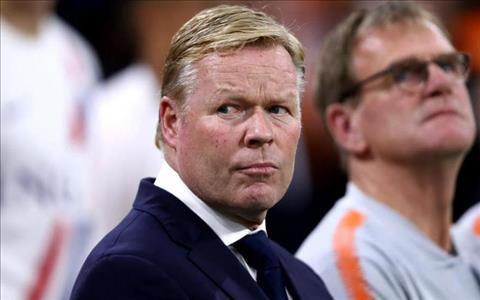 Ronald Koeman phát biểu sau trận Hà Lan 3-0 Đức hình ảnh