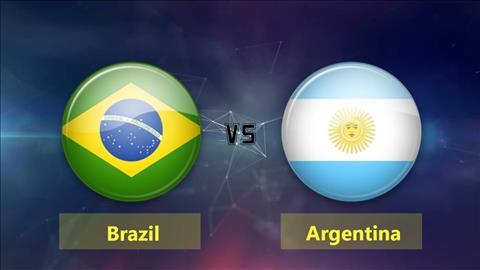 Brazil vs Argentina 0h00 ngày 1611 Giao hữu quốc tế hình ảnh