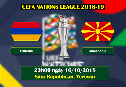 Armenia vs Macedonia 23h00 ngày 1610 (UEFA Nations League 201819) hình ảnh