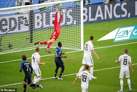 Pháp 2-1 Đức Griezmann tỏa sáng, Les Bleus dìm Xe tăng xuống vực sâu hình ảnh 2
