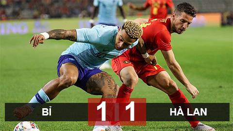 Kết quả trận đấu Bỉ vs Hà Lan 1-1 giao hữu quốc tế hình ảnh