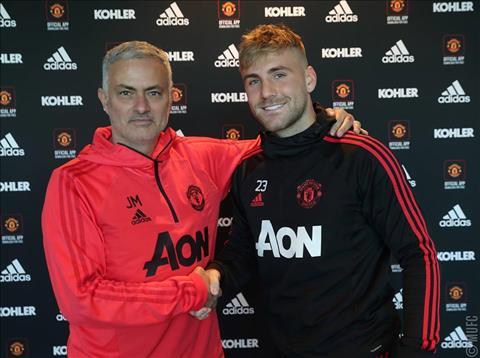 Mourinho khen ngợi Luke Shaw sau khi gia hạn hợp đồng hình ảnh